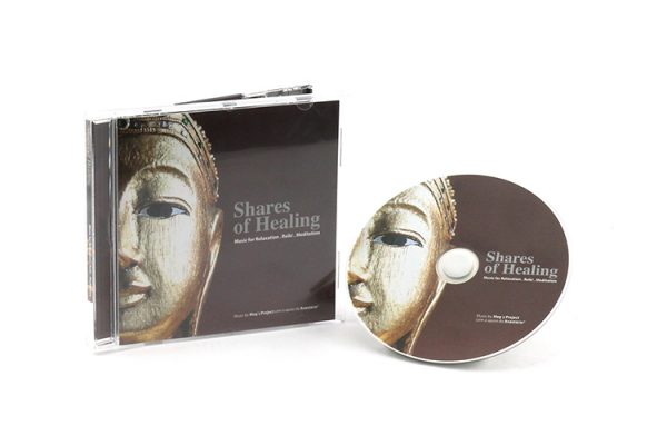 CD Audio - Shares of Healing - Music for Relaxation