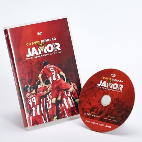 DVD Video - CD Aves - Rumo ao Jamor