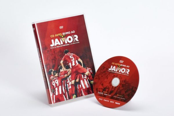 DVD Video / DVD Box - CD Aves - Rumo ao Jamor