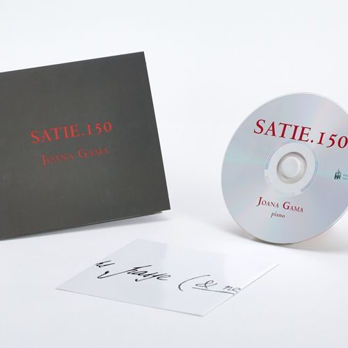 CD Audio - Joana Gama - Satie.150