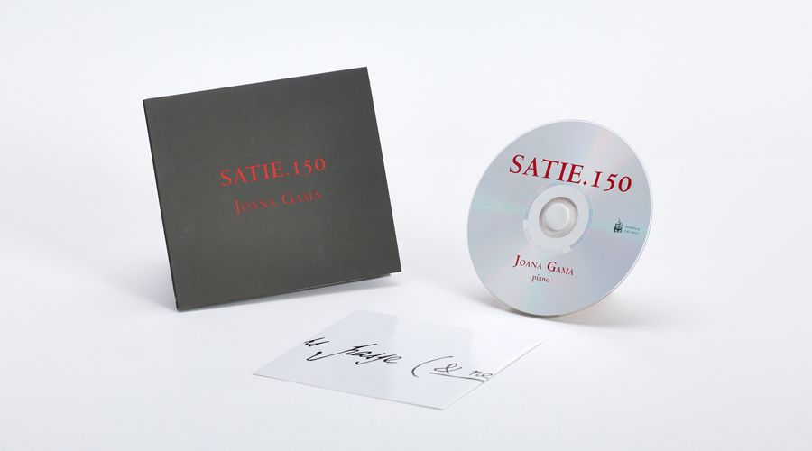 CD Audio / Digisleeve - Joana Gama - Satie.150
