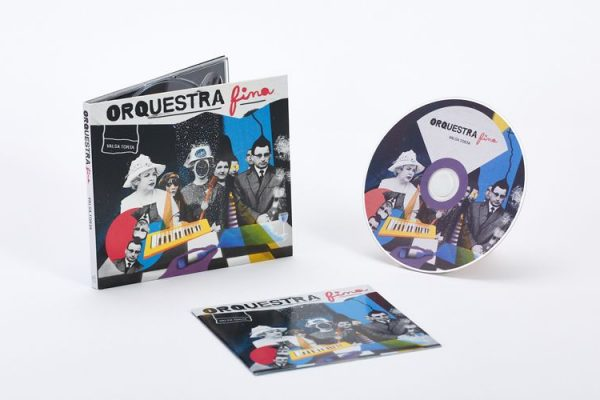 CD Audio / Digipak - Orquestra Fina - Valsa Torta