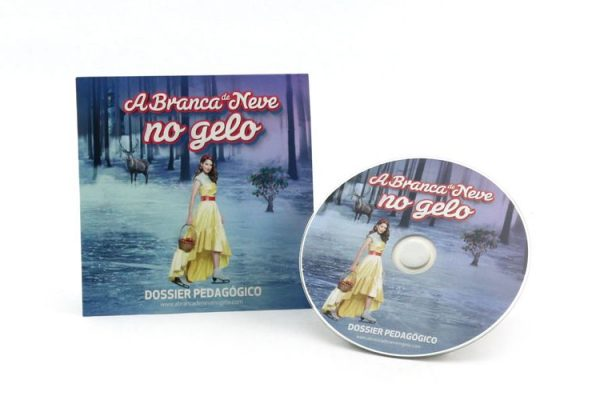 CD Audio / Cartonsleeve - A Branca de Neve no Gelo