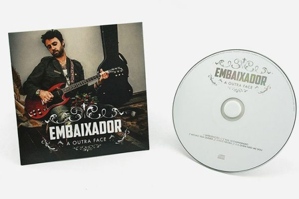 CD Audio / Cartonsleeve - Embaixador - A Outra Face