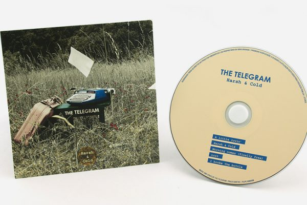 CD Audio / Cartonsleeve - The Telegram - Harsh Cold